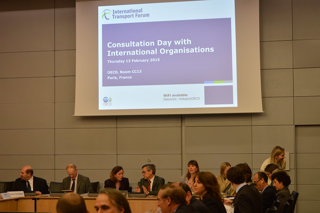 The International Transport Forum's Consultation Day with International Organisations in preparation for the 2015 Summit