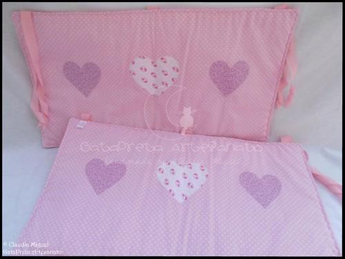 Conjunto tecido bebé A Fada e os pózinhos perlimpimpim lilás17