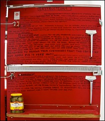 East meets West - DSC01201a (normko) Tags: west london art apple tom pie gallery post pop east pickles instructions shotgun now meets macdonalds sachs saachi nutsys
