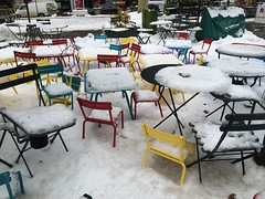 (MyChixpix) Tags: winter snow newyork seasons bryantpark