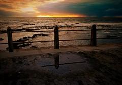 Promenade (Dreamcatcher photos) Tags: ocean sunset seascape storm rocks promenade seafront dreamcatcherphotos