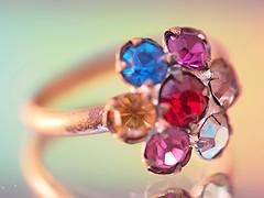toy ring (tomoko mori) Tags: macro glass toy colorful child bokeh olympus ring macromondays