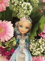 Beauty In Flowers  (JustADollFan) Tags: flowers high doll after charming ever darling