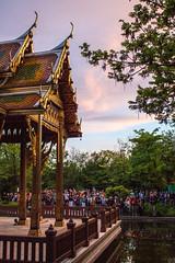 vesakh at the temple (fkoepke) Tags: vesakh buddhist teme festival sunset meditation pray holy