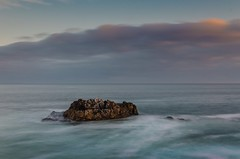 Stone in the sea (riccardogiovanoli) Tags: africa sea stone hermanus nikon soutafrica d7000 nikond7000