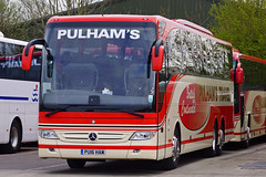 Pulham, Bourton-on-the-Water - PU16 HAM (peco59) Tags: mercedes mercedesbenz psv pcv tourismo pulhams pulhamscoaches pulhamstravel pulhambourtononthewater tourismom pu16ham