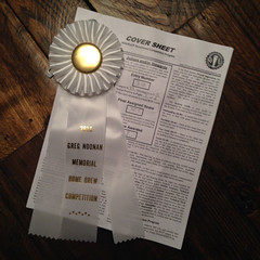 Tilde Galaxy: 3rd place IPA! (found_drama) Tags: vermont award ribbon ipa homebrew 05452 homebrewing vt noonan essexjunction craftbeer doubleipa americanipa tildegravitywerks tildegalaxy