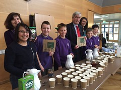 Attending Sanderson's Wynd fairtrade coffee morning