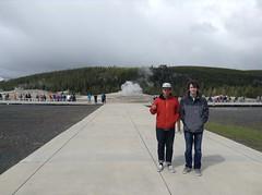 IMG_3884 (phoebe.yo) Tags: park old hot spring band roadtrip tourist steam national yellowstone wyoming geyser faithful tectonic
