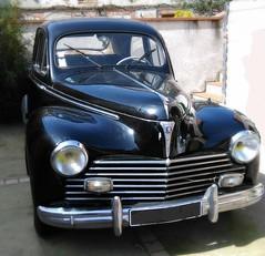 Peugeot 203 (Doonia31) Tags: voiture france peugeot vieux noir peinture reflets phares chromes capot tacot collection rare