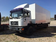 MAN 16.232 (Vehicle Tim) Tags: man truck f90 bdf lkw m90 wechselbrcke