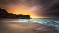 Arenillas (Pablo RG) Tags: atardecer playa cantabria arenillas galizano