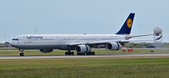 Lufthansa Airbus A340-642/D-AIHF (GeorgeChoy Photography) Tags: long special yvr lufthansa a340 a340600 a346 cyvr daihf
