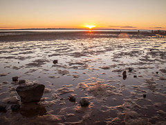 Low Tide Sunset (Troy Kasper) Tags: au australia queensland wellingtonpoint troykasperphoto