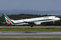 Alitalia ERJ-190-100STD EI-RNA GRO 15/05/2016 (jordi757) Tags: nikon airplanes girona costabrava alitalia lege embraer avions gro d300 erj190 erj190100 eirna