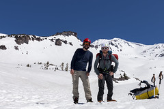 Descent (kerns.nathaniel) Tags: mountain glacier climbing cascades mountaineering shasta hood