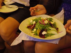 Beet salad (EllenJo) Tags: family arizona guests dinner pentax cousins cottonwood familyvisit bocce verdevalley 2016 may20 dahlbergs cottonwoodaz outoftowners illinoispeople familyvisiting 86326 ellenjo oldtowncottonwood ellenjoroberts illinoisresidents pizzeriabocce pentaxqs1 illinoisfolks