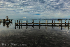 Pineland, Florida (tropicdiver) Tags: clouds dock florida pineisland pineland pineislandsound tarponlodgeandrestaurant