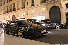 Ferrari_F430_Scuderia_5_1 (Deux-Chevrons.com) Tags: auto street paris france car automobile automotive ferrari spot voiture exotic coche spotted gt rue luxury scuderia supercar luxe spotting supercars 430 sportcar prestige croise ferrari430scuderia 430scuderia