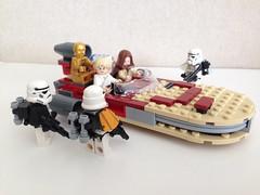 These aren't the droids you're looking for!! (nz-brickfan) Tags: starwars lego stormtroopers r2d2 legos lukeskywalker legostarwars c3po afol starwarsfan tatoonie obionekenobi
