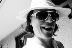 whatup? (Feroswelt) Tags: hello birthday family bw up cool mr brother portait celebration what feroswelt