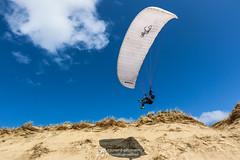 IMG_9241 (Laurent Merle) Tags: beach fly outdoor dune cte vol paragliding soaring ozone plage parapente atlantique ocan glisse littlecloud spiruline