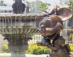 Minnie (CptSpeedy) Tags: world fountain statue mouse orlando florida outdoor disney mickey walt brass daydream magickingdom