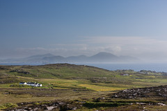 Malin Head (ghostwheel_in_shadow) Tags: ireland sea sky field coast europe eire coastal donegal connaught malinhead republicofireland banbascrown