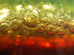 Oil & Vinegar (Shelby's Trail) Tags: macro bubbles oil theme vinegar hmm ~ saladdressing macromondays