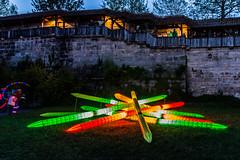 Kronach leuchtet 03 - Mikado (ho4587@ymail.com) Tags: licht event mikado burg nachtaufnahme kronach lichtshow lzb leuchtet
