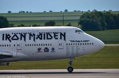 Ed Force One Iron Maiden - Boeing 747-428 | TF-AAK (Austrian Air Spotter) Tags: maiden boeing 747428 tfaak ed one iron boeing747428tfaakedforcroneironmaiden ironmaiden boeing747428tfaak cc666 boeing747428 b747 b747428 outdoor fahrzeug aircraft flugzeug edforceoneironmaiden airfranceboeing747400 jumbojet jet rockband force