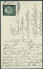 Archiv E645 Gesegnete Weihnachten aus Miesbach, 1920er (Hans-Michael Tappen) Tags: 1920s stamps weihnachtskarte briefmarke gesegneteweihnachten poststempel 1920er weihnachtsgrse archivhansmichaeltappen