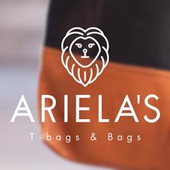 Ariela's Design (arielasbags) Tags: logo text bags icono logotipo bolsos arielas f1ca