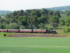 Heading for the Tunnel. (Kieran H) Tags: gwr severnvalleyrailway kidderminster bewdley 4566 smallprairie