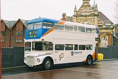 EastLondon-RML2665-SMK665F-Walthamstow-040305a (Michael Wadman) Tags: routemaster walthamstow eastlondon route58 rml2665 smk665f
