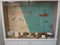IMG_2358 Native American display of historical artifacts (jgagnon63@yahoo.com) Tags: uppermichigan escanaba deltacountyhistoricalmuseum deltacountymi deltacountyhistoricalsociety