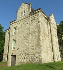 Old Waukesha County Jail (Waukesha, Wisconsin) (courthouselover) Tags: wisconsin waukesha wi waukeshacounty countyjails courthouseextras robertgkirschjr milwaukeemetropolitanarea