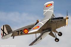 Bcker B 131 (Ignacio Ferre) Tags: madrid airplane nikon aircraft military airshow avin fio bcker lecu jungmann cuatrovientos bckerb131jungmann spanishairforce fundacininfantedeorleans bckerb131