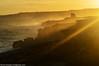 Salento d'Amare - 09 (giorgionuzzo) Tags: sunset sea italy costa sun tower yellow coast nikon rocks mare ray torre porto sole rocce salento puglia rayofsun turchi raggio santacesareaterme portomiggiano torremiggiano imagine31nuzzogiorgio