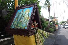 DSC00177 (Peripatete) Tags: family bali nature festival fruit prayer religion ceremony hindu ubud offerings galungan penjor