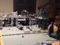 Starkiller base moc update June 2016 (Carson Tate) Tags: starwars lego wip stormtrooper base moc firstorder starkiller kyloren