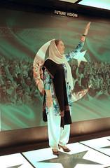 Benazir Bhutto, frozen in time at the Lok Virsa Museum (Batool Nasir) Tags: area building capital content indoor islamabad location lokvirsa museum pakistan urban venue folk display exhibits frozenintime culture province