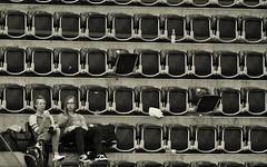 Halftime II (heiko.moser) Tags: street city portrait people bw woman streetart blancoynegro canon person mono blackwhite women leute noiretblanc candid strasse teens streetportrait nb menschen teen sw bern monochrom halftime publicity schwarzweiss nero youngwoman discover halbzeit streetfoto einfarbig schwarzweis eyecatch blackwihte entdecken streetfotografie heikomoser
