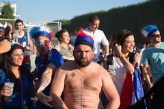 FanZone Paris Tour Eiffel: Germany vs France (mahtieuc) Tags: paris france football ledefrance champdemars fr fanzone euro2016