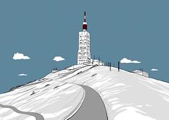 Ventoux02 (Binhex) Tags: comics cycling ventoux