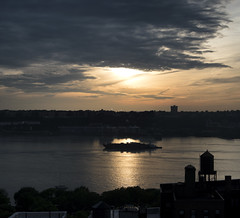 Hudson River Light (Joe Josephs: 2,650,890 views - thank you) Tags: nyc newyorkcity sunset sunlight newyork water clouds river boats manhattan ships hudsonriver fineartphotography travelphotography fineartprints joejosephs joejosephsphotography