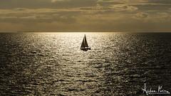 Al centro (Andrea Morico) Tags: light sea italy clouds star boat nikon barca italia nuvole mare sailing campania wind august agosto vela ischia luce vento stelle lavela d610
