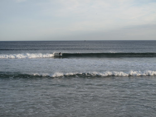 Surfing at Fraserburgh beach