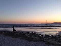 Photo (DoSchu) Tags: strand sonnenuntergang mallorca segelboot instagram