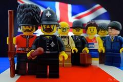 UK Referendum : In or out of Europe ? (713 Avenue) Tags: uk british referendum eu vote britiain gb europe brexit lego flag minifigures london br
